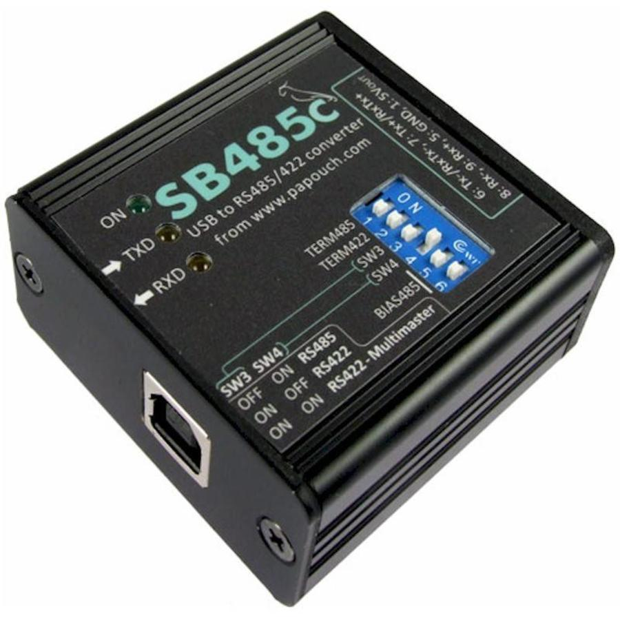 SB485C - USB to RS485 / RS422 isolated converter with D-SUB 9M connector