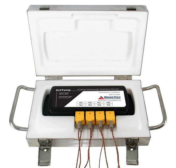 Thermovault Oven Profile Dataloggers