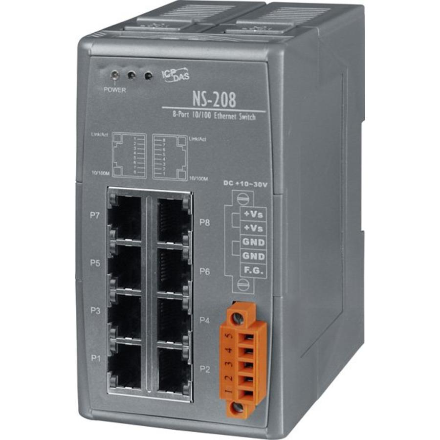 NS-208-CR Ethernet Switch/8 Ports-2