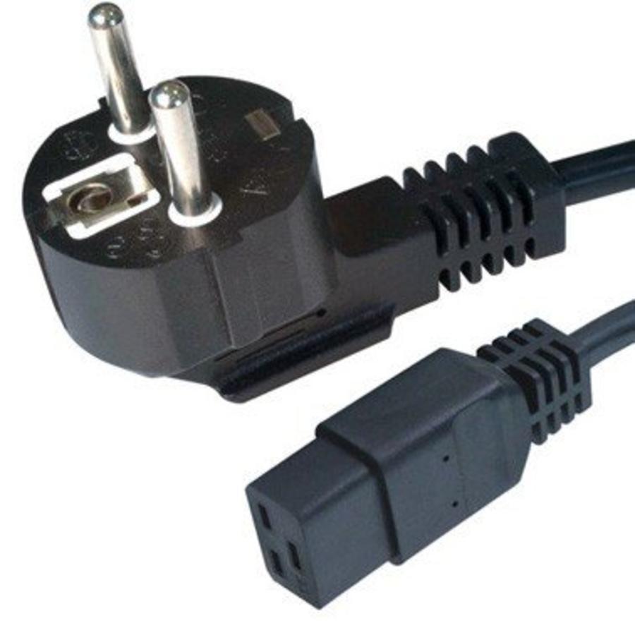 Power Cord 1,8 meter Schuko to C19 (High Amp)