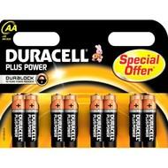 Duracell batterij AA Plus (8x)