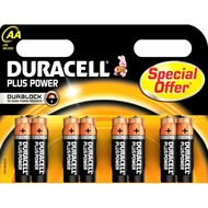 Duracell piles AA Plus (8x)