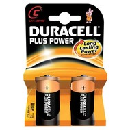 Duracell pile C Plus (2x)
