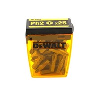 DeWALT 25 embouts PH 2x25