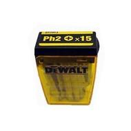 DeWALT 15 embouts PH 2x50