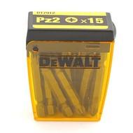 DeWALT 15 embouts PZ 2x50