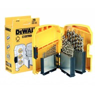 DeWALT 29-delige Extreme2® metaalborenset in grote `Tough Case`