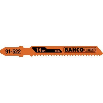 Bahco 5 lames de scies sauteuses 53mm 91-502-5P