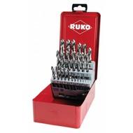 RUKO boîte de forets HSS-G 25 pièces