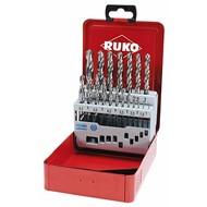 RUKO boîte de forets HSS-G 19 pièces