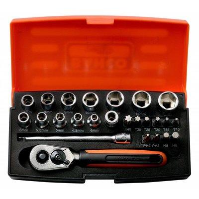 Bahco bits- en dopsleutelset (25-delig) SL25