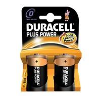 Duracell batterij D Plus (2x)