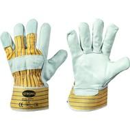 Stronghand paar werkhandschoenen leder (10/XL)