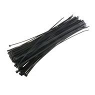 100 kabelbinders 3,5x300mm zwart