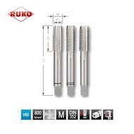 RUKO set de 3 pièces tarauds M10