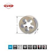 RUKO filières pas métrique DIN EN22568 HSS