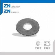 Rondel M4 DIN9021 ZN