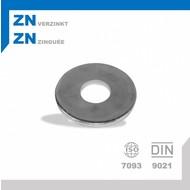 Rondel M6 DIN9021 ZN