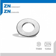 Rondel M12 DIN125A ZN
