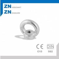 Oogmoer M6 DIN582 ZN