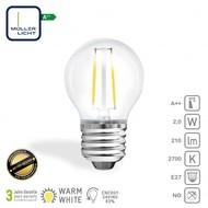 Müller Licht Lampe LED E27 2W 210Lm