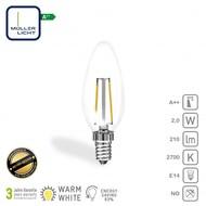 Müller Licht LED-Kaarslamp E14 2W 210Lm