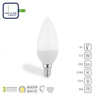 Müller Licht Lampe LED bougie E14 3W 250lm