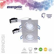 Energetic inbouwspot LED 2x5,5W