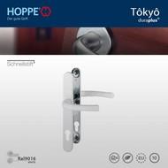 HOPPE garniture de sécurité Clenche/Clenche Tôkyô Blanc