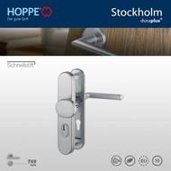 HOPPE garniture de sécurité Bouton/Clenche Stockholm F69