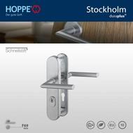 HOPPE garniture de sécurité Clenche/Clenche Stockholm F69