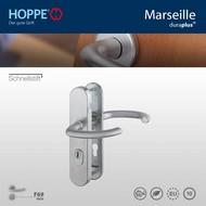 HOPPE garniture de sécurité Clenche/Clenche Marseille F69