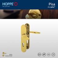 HOPPE garniture de sécurité Bouton/Clenche Pisa F77