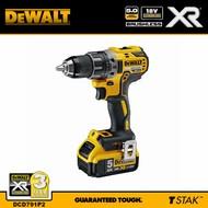 DeWALT schroef/boormachine 18V (5,0Ah) XR Brushless
