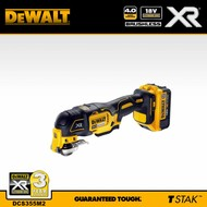 DeWALT oscillerende multitool 18V (4,0Ah) XR Brushless