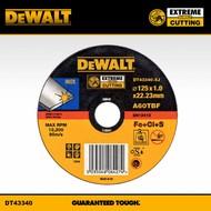 DeWALT slijpschijf 125x1,0mm INOX