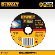 DeWALT disque à tronçonner l'inox 1,0x115mm