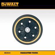 DeWALT steunschijf 150mm (middel hard)