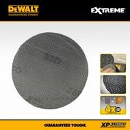 DeWALT 5 feuilles abrasives 150mm [120G]