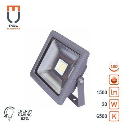 LED breedstraler 20W 6500K