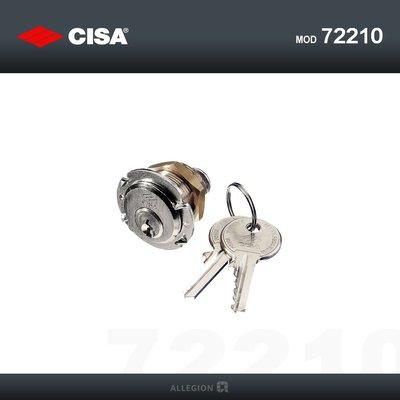 Cisa kamcilinder 30mm 72210-30