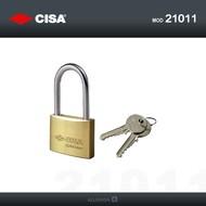 Cisa hangslot met hoge beugel 40mm