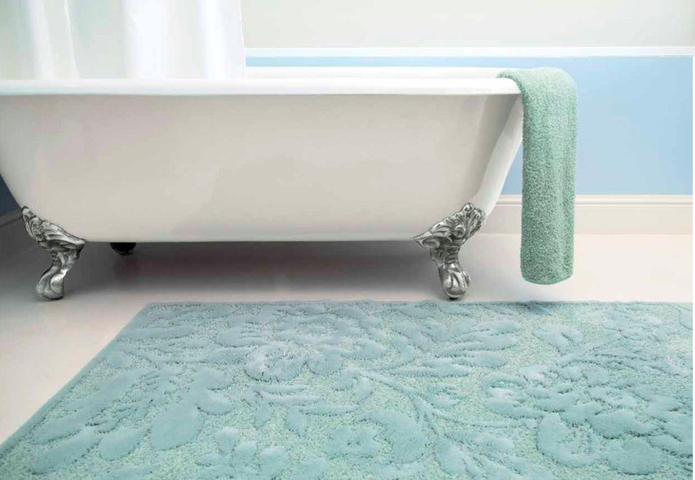 BRIGHTON , tapis de bain , 60% de coton et 40% acrylique 1900gr / m ...