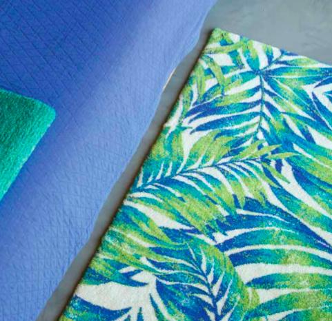 MAJORELLE tapis de bain 100% coton 1900gr / m 2 COULEUR NO. 302 ...