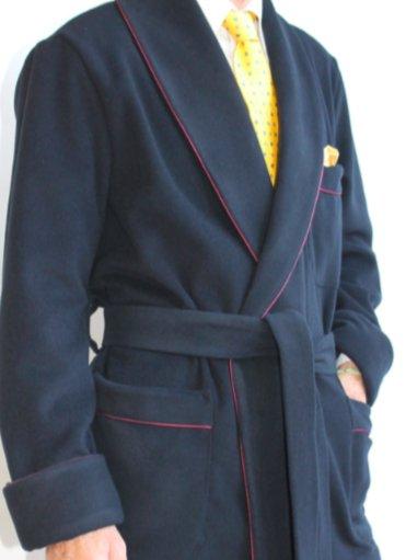 piet nollet veste dinterieur classique pour homme en lainecashmere