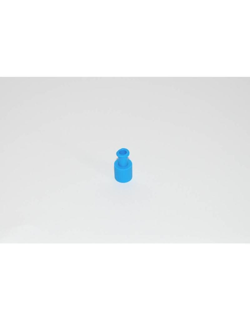 Kombiverschluss Stopfen blau