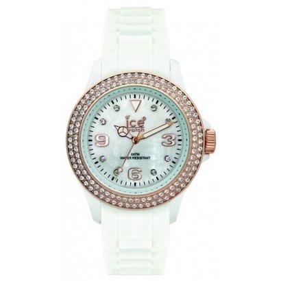 Ice-Watch Ice-Watch Stone Sili white/rose Ø 43mm