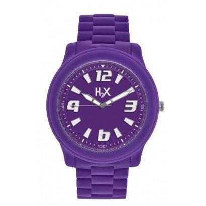 H2X H2X Splash horloge paars SV381XV1