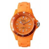 Colori Colori horloge classic oranje
