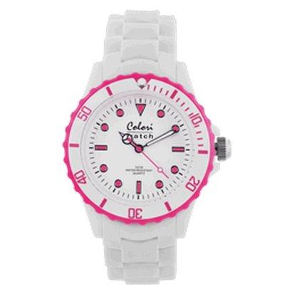 Colori Colori horloge White Summer pink 5-COL019